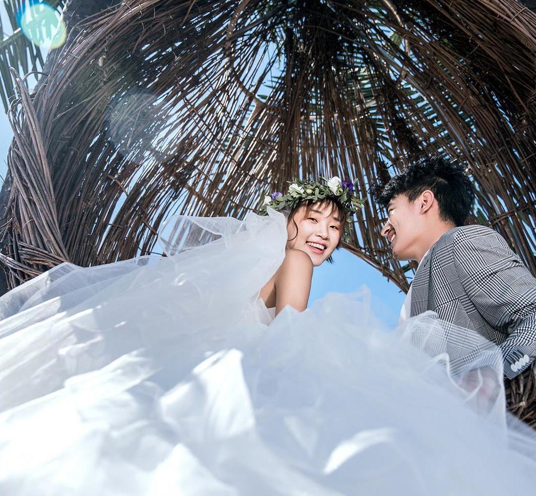 高级定制主题婚纱摄影(海城S方式摄影)