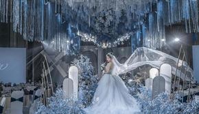 【店长直推】蓝色浪漫婚礼《纯净沁蓝》