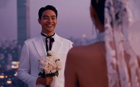【城市爱情】欧美风质感大片给你不一样的时尚婚纱照