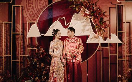 【中式新娘造型】总监婚礼全程跟妆