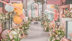 【盛夏撞色清新婚礼】款式任意选择+仪式感满满