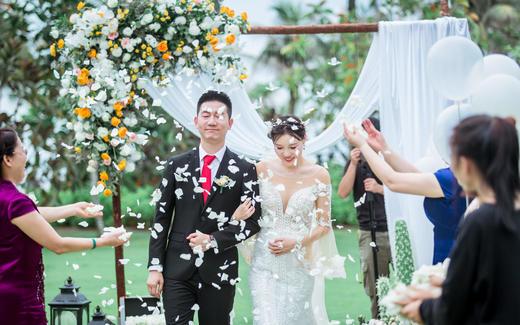 海南三亚户外婚礼2019