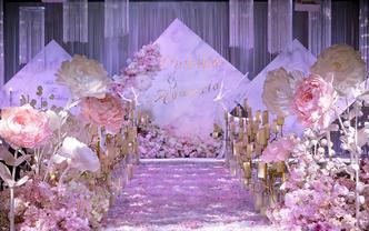 【SoulMate婚礼】《守望 》白粉色系列婚礼