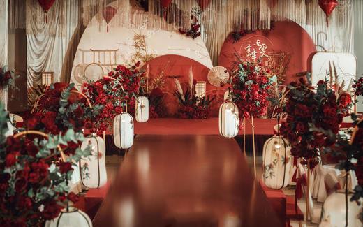 「新中式」红色婚礼·红华
