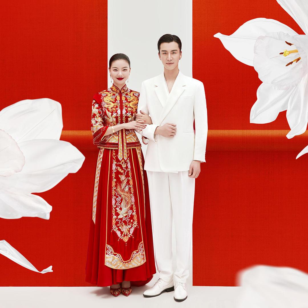 【喜嫁系列】中式婚纱照|服装任选|年度热卖
