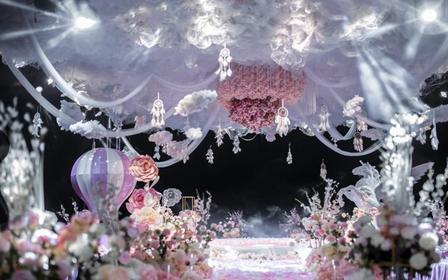 内江一期一会粉色少女心梦幻婚礼