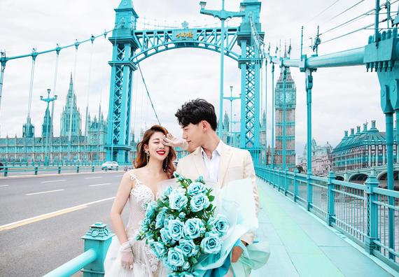 【打卡网红桥】浪漫马卡龙#武汉轻旅拍