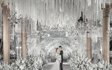纯白极简干净婚礼——五厘米婚礼