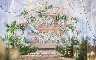 【品客婚礼】10-15桌小型婚礼/现金直抵 限时