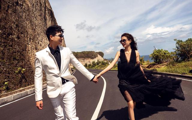爱旅拍巴厘岛•客照欣赏•环岛石壁公路•李&雷