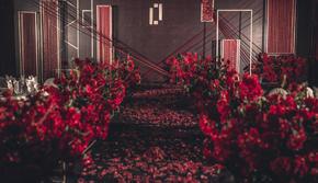 《Red Ins》北欧风红色系婚礼