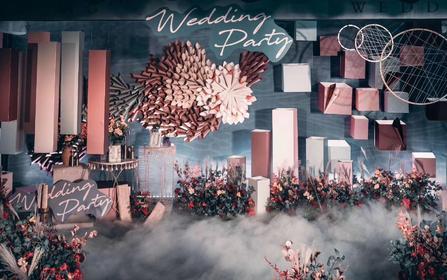 缤纷|厝边头尾·绚丽世界高端定制婚礼布置