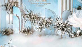 #一森婚礼案例---- 浅蓝