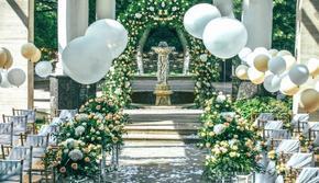 户外婚礼主题布置—夏天的味道