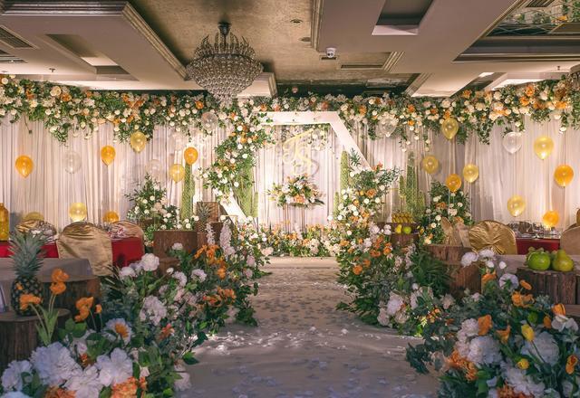 【反射光婚礼】橙绿色森系婚礼【橙暖】