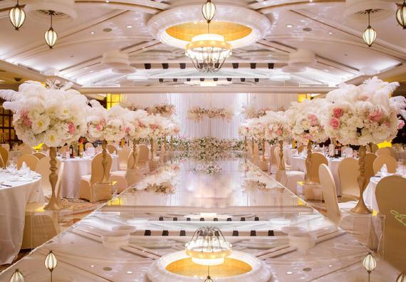 【索菲亚婚嫁】含资深四大金刚/香槟粉主题婚礼