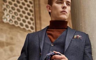 《时尚先生》高级男装定制