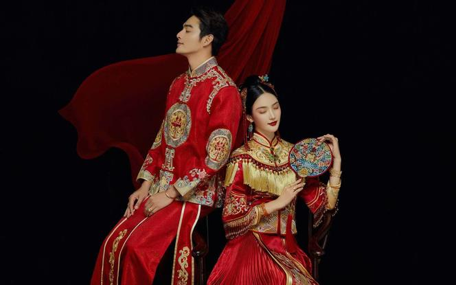 花满集婚纱旅拍---中式