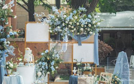 【喜上策划】一价全包户外清新婚礼+四大音响椅子