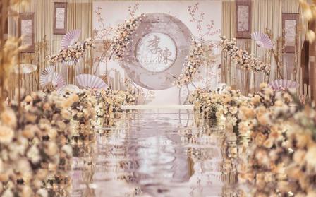 【一价全包+新中式婚礼】四大人员/香槟色新中婚礼