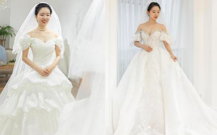 【店长推荐】新品复古设计婚纱套系