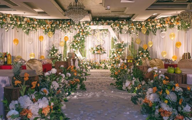 【We婚礼】田园丨小清新丨人气【倾橙时光】