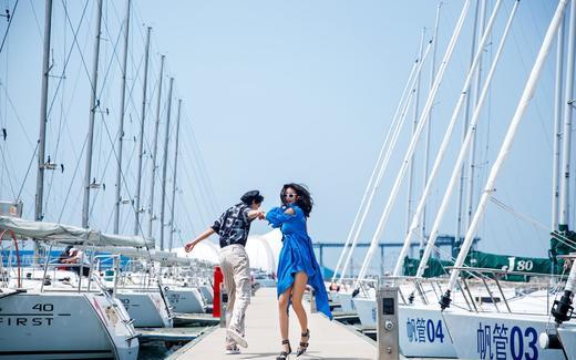 慕色美学婚纱摄影——帆船泊位街拍