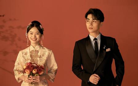 【喜嫁】新中式婚纱照|定制拍摄|当季热拍