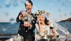 一套不撞衫的婚纱照`4w+新人选择`百万研发团队