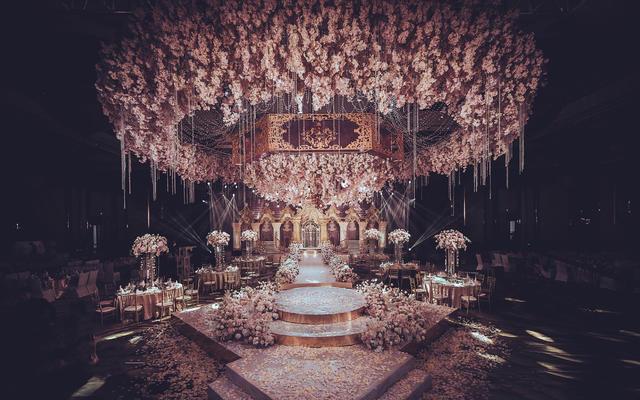 艾慕婚礼 | 少女心满满花园风宫廷婚礼 遊蝶花