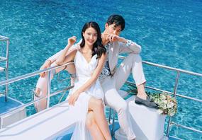 【定婚纱送旅拍】✨一价全包🔥私人海景基地🌴