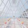 【景区门票+缆车+布置】三亚凤凰岭水晶教堂婚礼