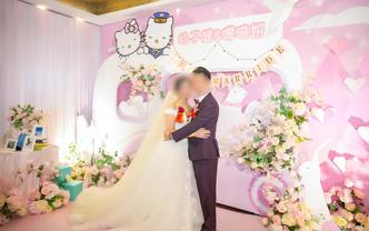 【618优惠活动】粉色ins梦幻唯美婚礼