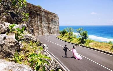 爱旅拍巴厘岛•客照欣赏•巴厘海景•姚&欧