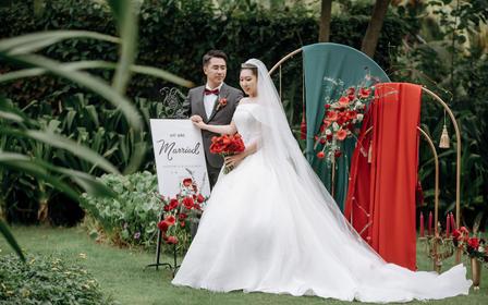 【缘定婚礼】10人海边别墅婚礼一站式婚礼管家服务