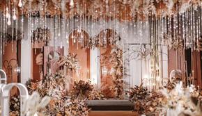 橘色泰式风主题婚礼含老板亲自司仪化妆摄像摄影