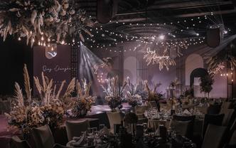「一场刷爆朋友圈的高级灰紫色」婚礼