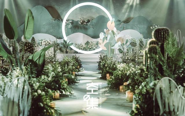 别样热带针叶林婚礼 叶之冠