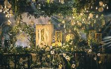 【明星同款】魔法森林 森系婚礼  精致婚礼