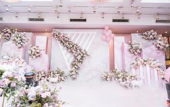 【巧目婚礼】《依然&舒然》粉色大理石纹