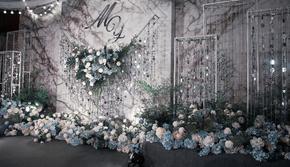 灰白色【艾沐婚礼】西式婚礼