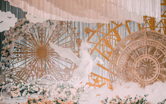 合肥爆款婚礼定制套系 以梦为马超梦幻主题婚礼