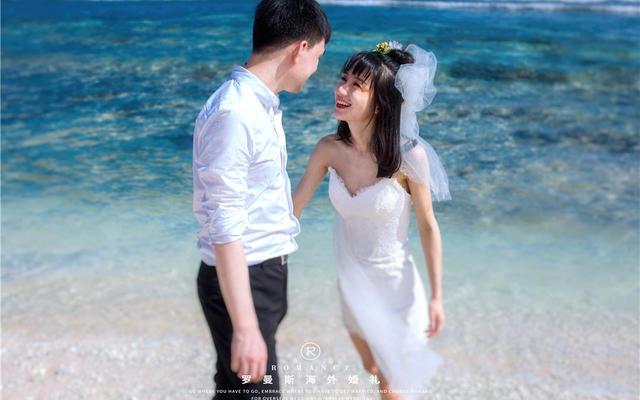 罗曼斯海外婚礼|迷人塞班蓝