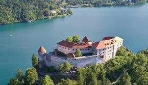 南宇风斯洛文尼亚布莱德城堡
