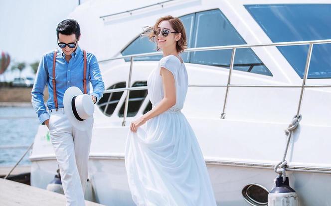 都市系列超值豪华游艇婚纱套餐