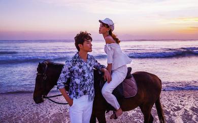 爱旅拍巴厘岛•原创作品•吉利岛沙滩骑马