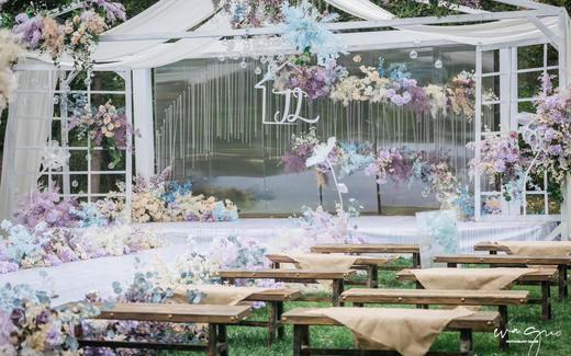 英伦花园草坪婚礼|花房姑娘