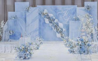 三亚室内婚礼 13800元超值 三亚宴会厅唯美婚