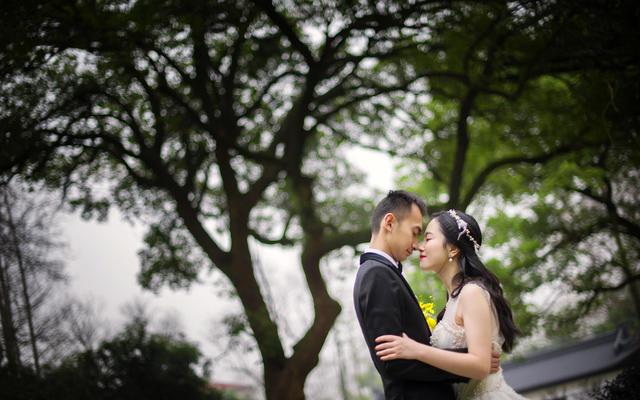 拾间婚礼摄影-唯你眉眼浅浅笑,河山万里皆是春