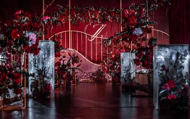 【倾城婚礼定制】---大气红色系主题婚礼